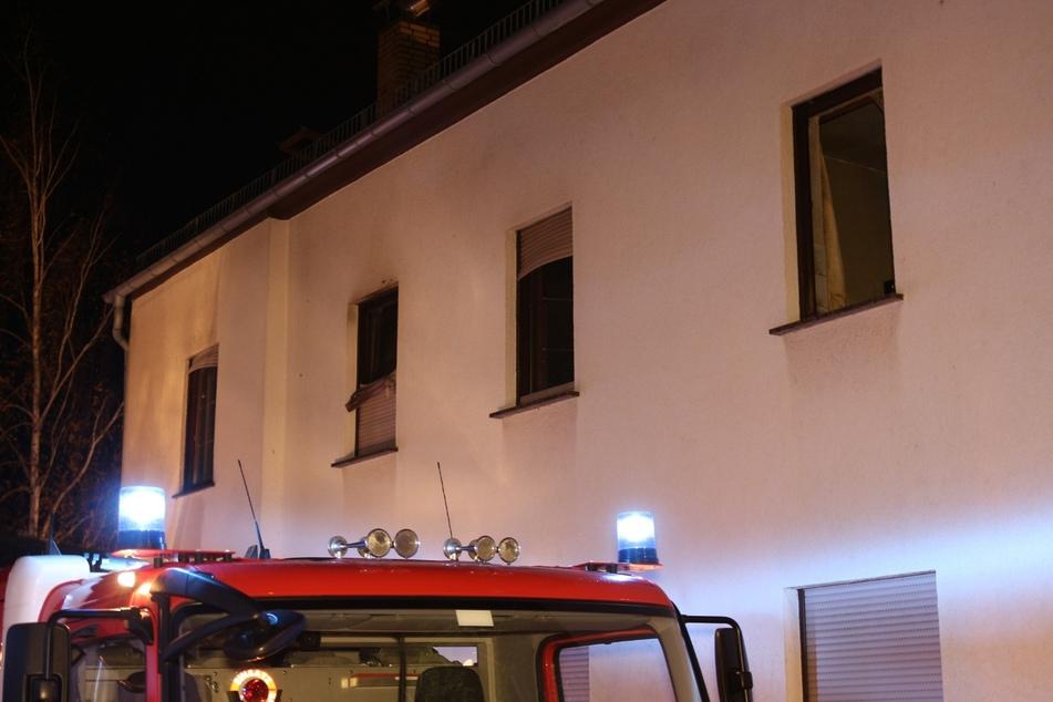 Das Feuer soll in der ersten Etage ausgebrochen sein.