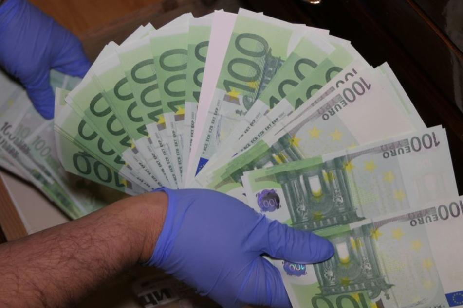 In der Hoteldruckerei wurde Falschgeld im großen Stil hergestellt.