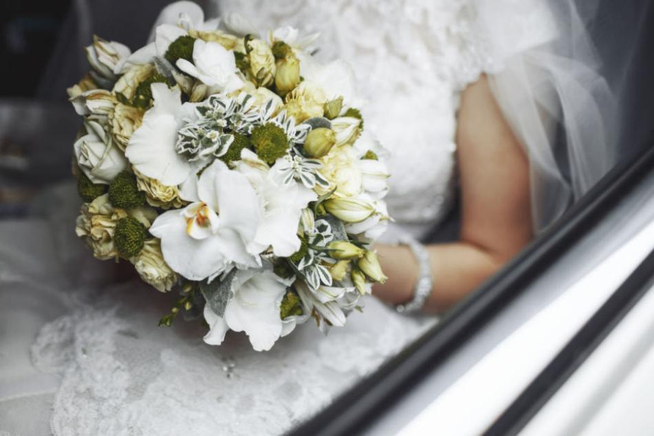 Das hatte sich die Braut sicherlich anders vorgestellt (Symbolbild).