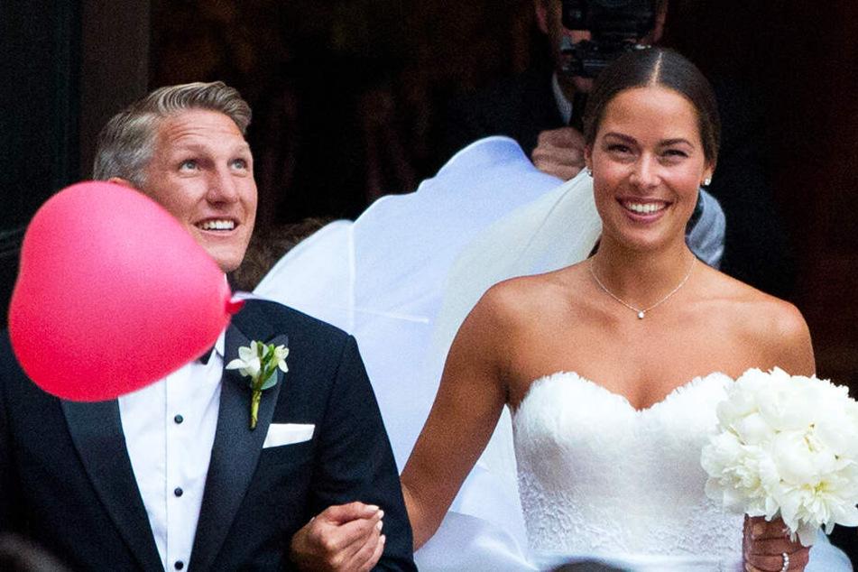 Bastian Schweinsteiger und Ana Ivanovic heirateten ganz romantisch in Venedig.