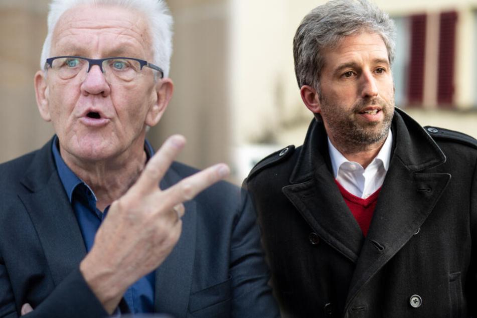 Kretschmann: Boris Palmer hat keine Aufstiegs-Chancen bei den Grünen