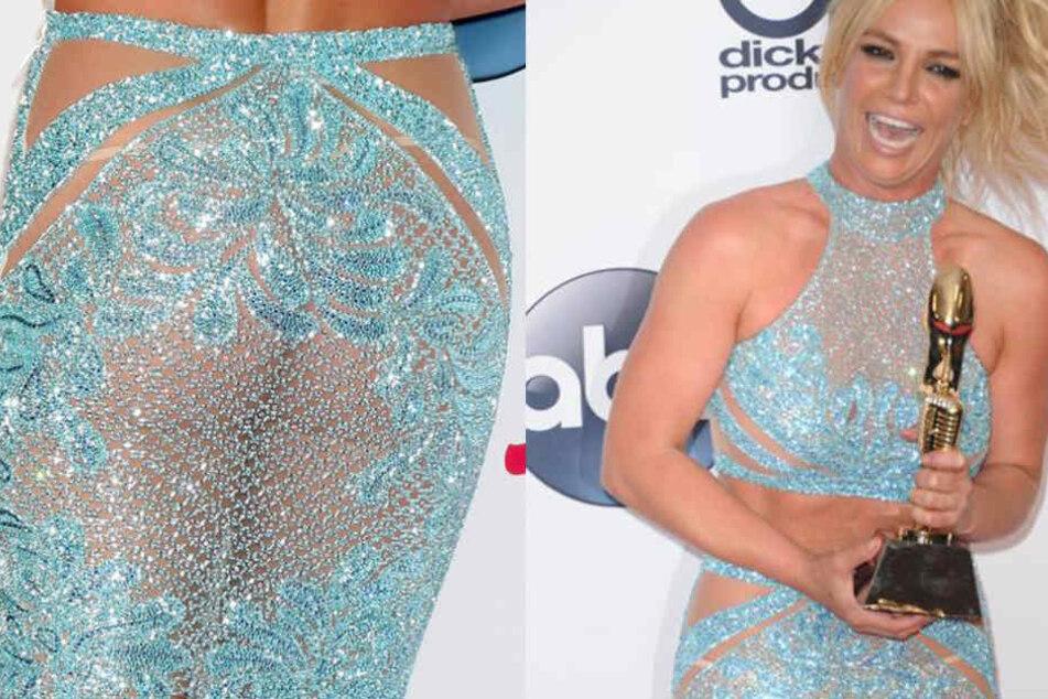 Nach zwei Kindern und zahlreichen exzessiven Nächten ist Britney wieder top in Form. Das zeigt sie auch gerne!