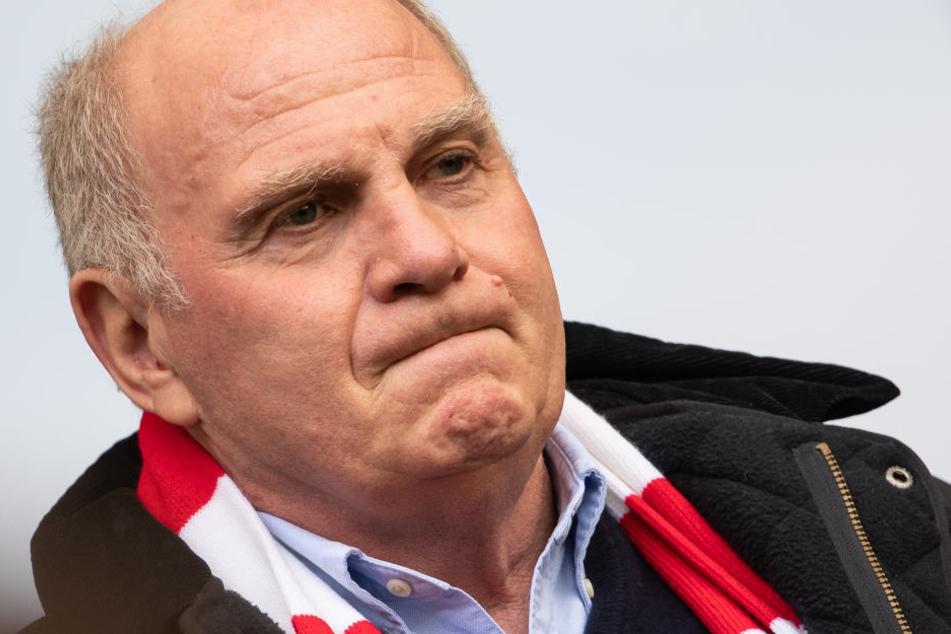 Uli Hoeneß (66) sieht die Ära der beiden Flügelspieler beendet.