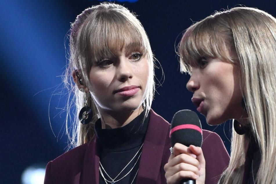 """Moderierten die RTL2-Show """"The Dome"""": Lisa und Lena."""