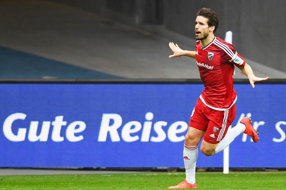 Diese Bilder wurden in letzter Zeit selten: Beim FC Ingolstadt 04 spielte Romain Bregerie zuletzt keine Rolle mehr.