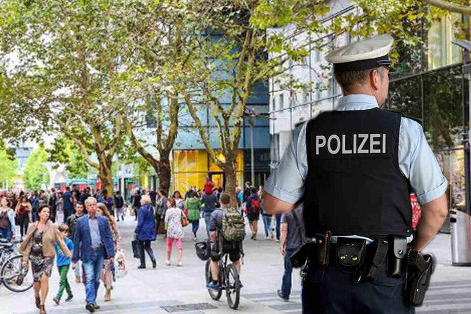 Dresden: Messer-Attacken und Randale: Männertag hielt Dresdner Polizei auf Trab!