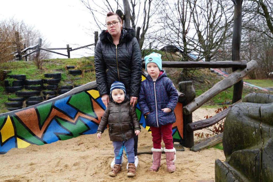 Isabell Junghanns (28) macht sich Sorgen um die Kinder, da alle Kadaver beim Spielplatz gefunden wurden.