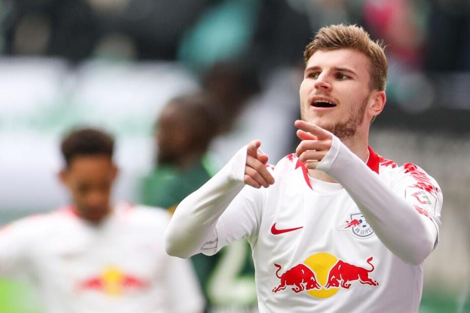 Timo Werner von RB Leipzig.