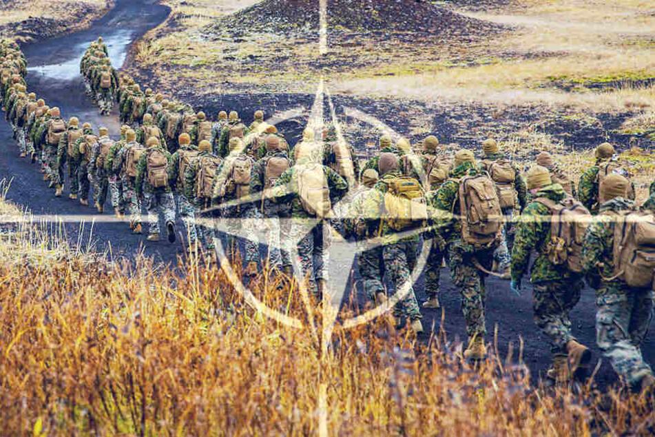 Nato startet größtes Manöver seit Ende des Kalten Krieges