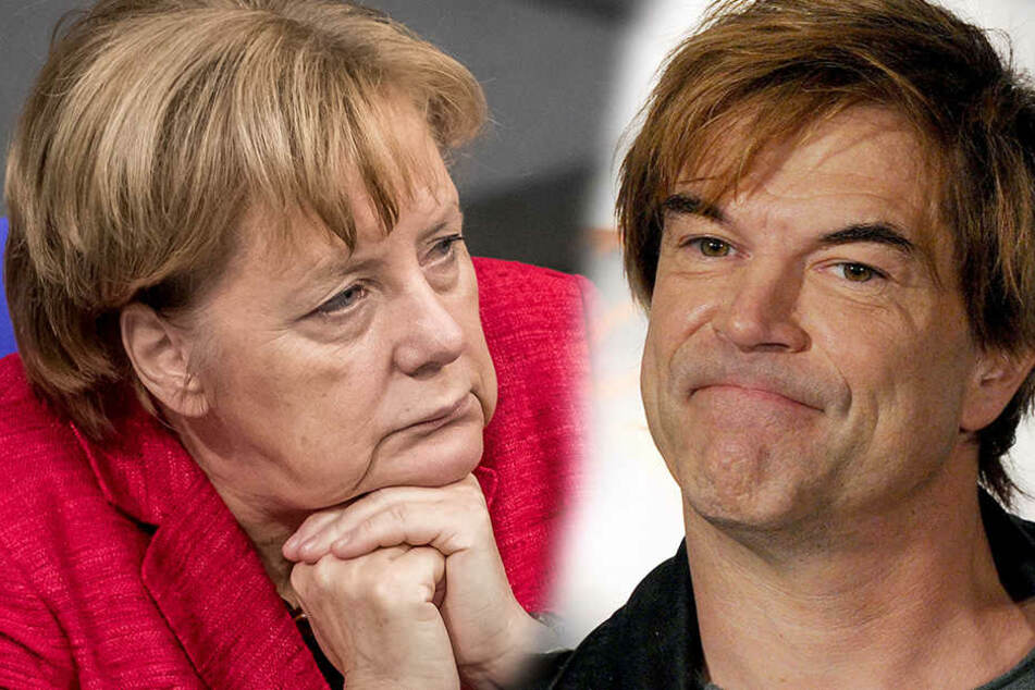 Campino fordert Merkel zum Durchhalten auf