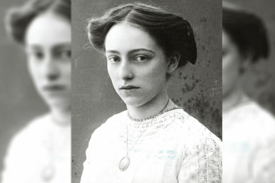 Von Lene Voigt sind nur etwa 25 Fotos erhalten. Dies zeigt sie als junge Frau.