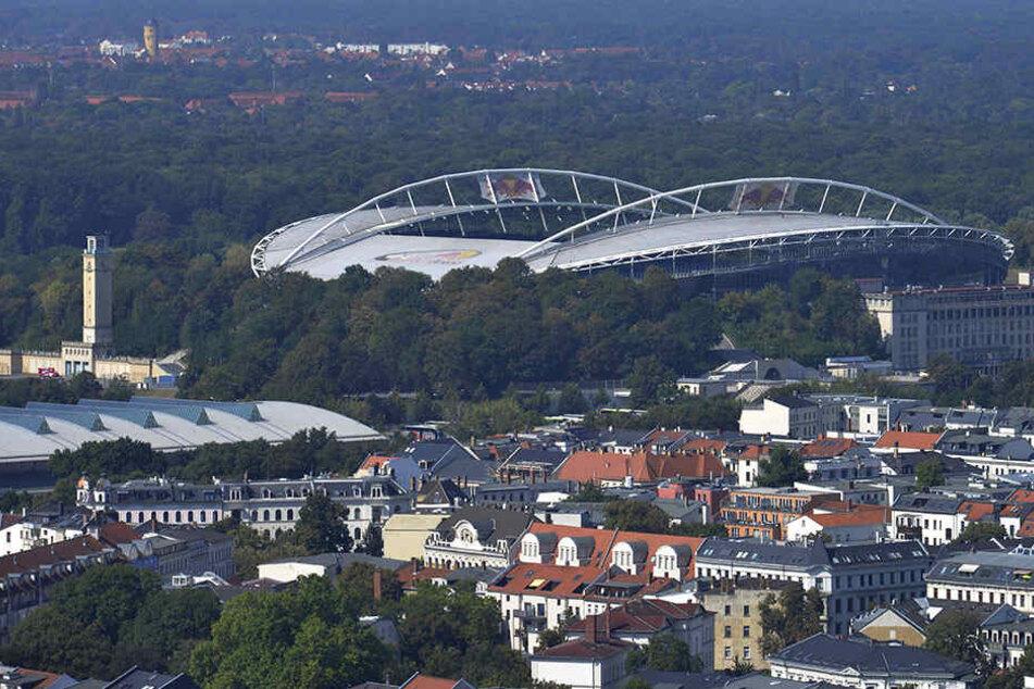 Zentrumsnahe Lage: Die Red-Bull-Arena bleibt im beliebten Waldstraßenviertel und wird auf rund 58.000 Plätze ausgebaut.
