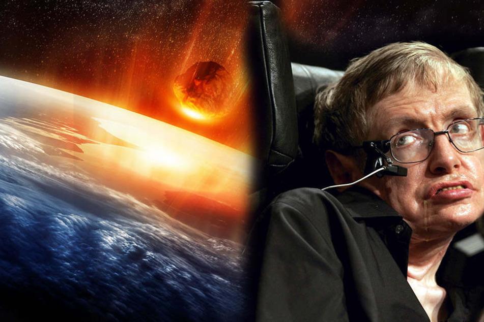 Stephen Hawking warnt: Menschen bleiben nur noch 100 Jahre, um Erde zu verlassen