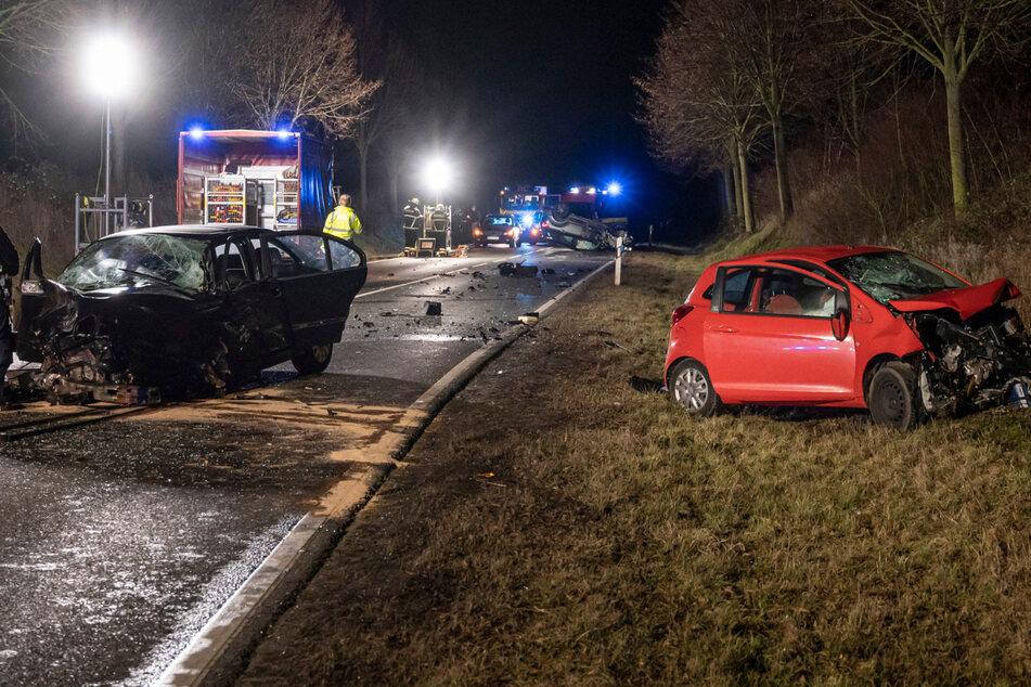 Vier Schwerverletzte bei Horrorcrash in Bad Homburg