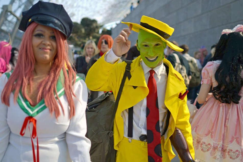 Die vielen Besucher der Comic-Con sorgen jedes Jahr für viel Aufsehen auf der Leipziger Buchmesse.