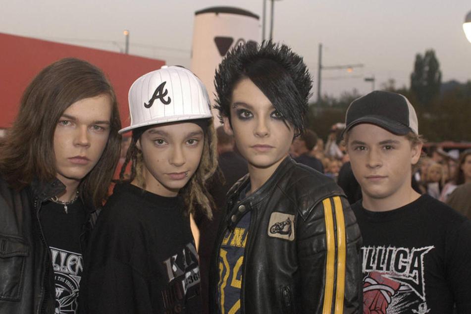 2005 gehörten Georg (l.), Tom, Bill und Gustav Tokio Hotel zu den absoluten Megastars.