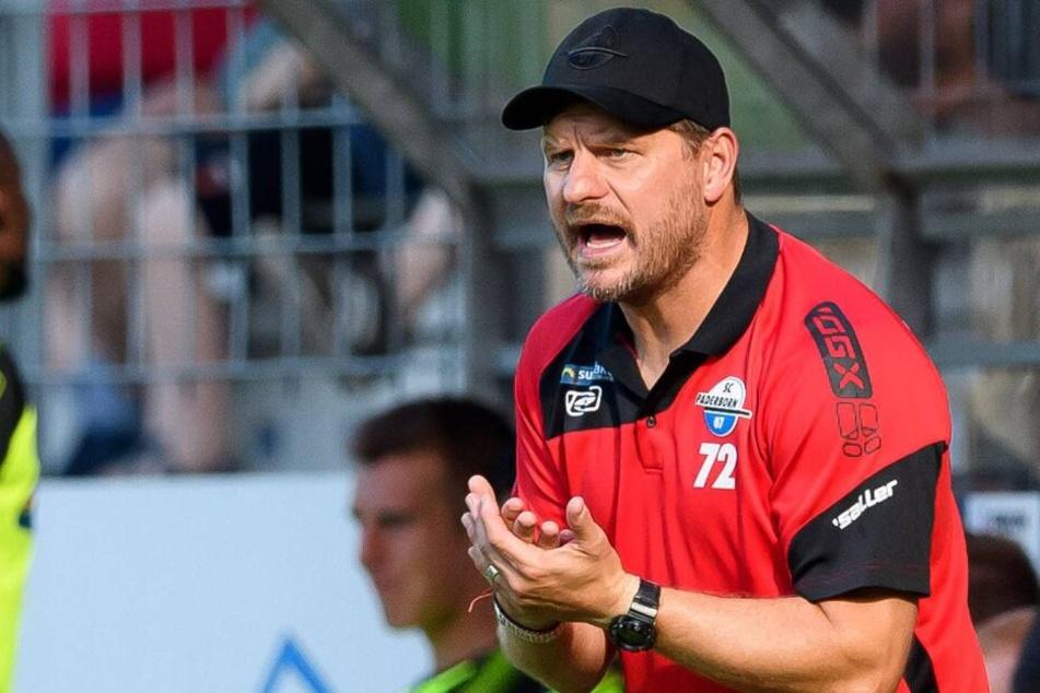 Auch in der 1. Liga setzt SCP-Trainer Steffen Baumgart auf seinen Offensivfußball.