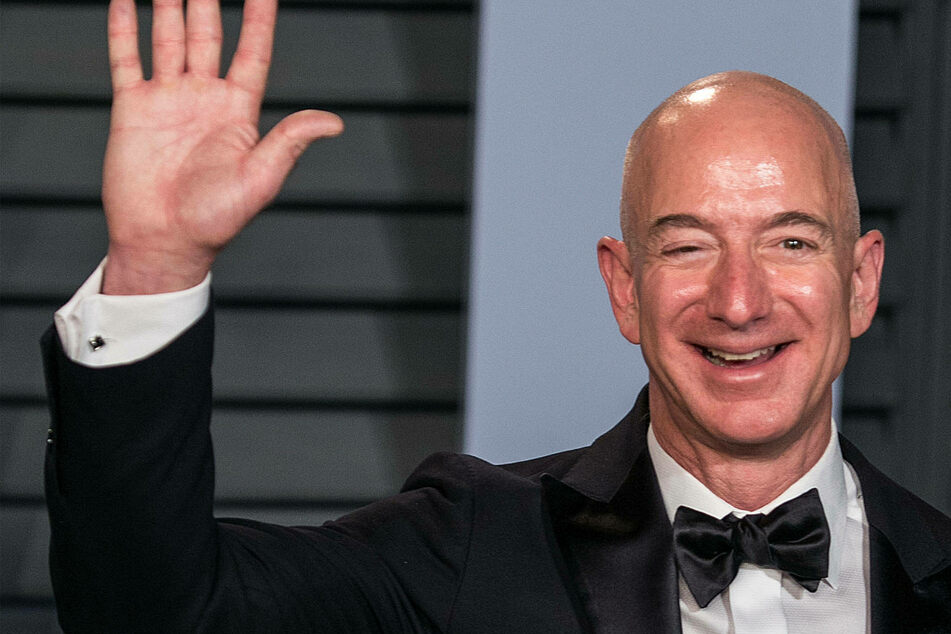 With a net worth of $177 billion, Amazon CEO Jeff Bezos is the world's richest person.