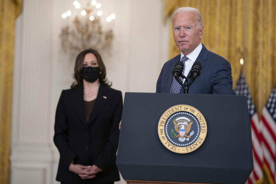 """Biden addresses Afghanistan evacuations in """"one of the largest, most difficult airlifts in history"""""""