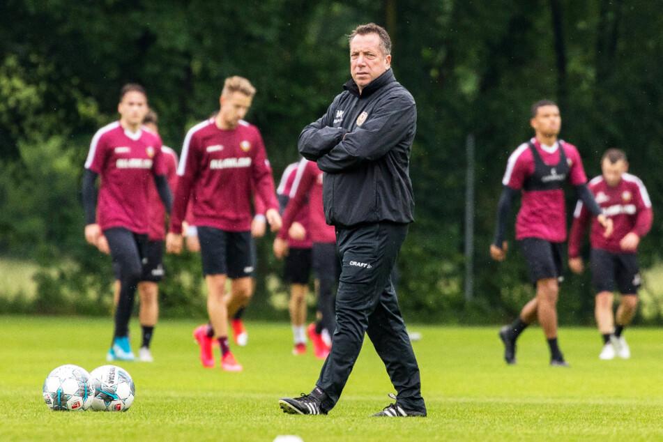 Jetzt hat Dynamo-Trainer Markus Kauczinski ein Ziel vor Augen. Am 18. September beginnt das ungewollte Abenteuer 3. Liga.