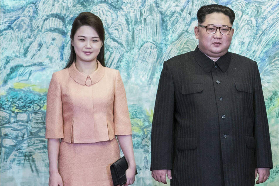 In the past, Kim Jong Un (r.) and his wife Ri Sol Ju often appeared in public together.