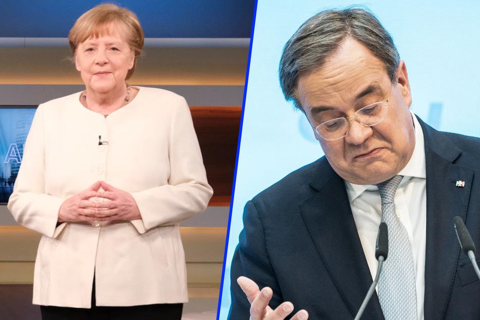 """Armin Laschet reagiert auf Merkel-Kritik bei Anne Will: """"Nicht gefreut"""""""