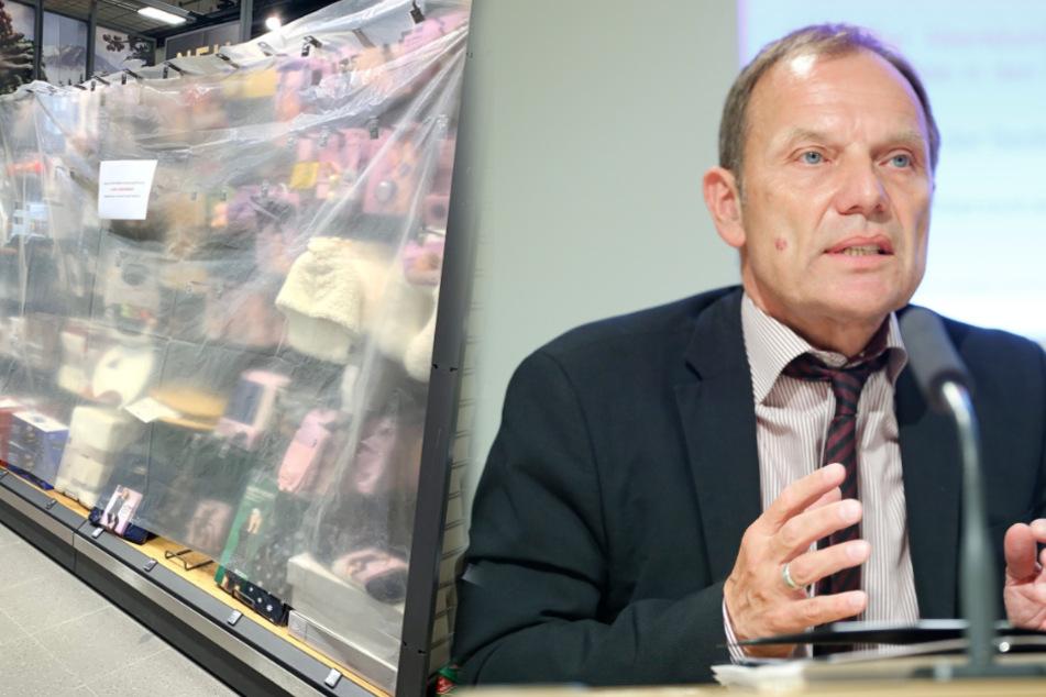 Verrückte Kehrtwende im Absperr-Chaos in Supermärkten: Wer sieht da noch durch?