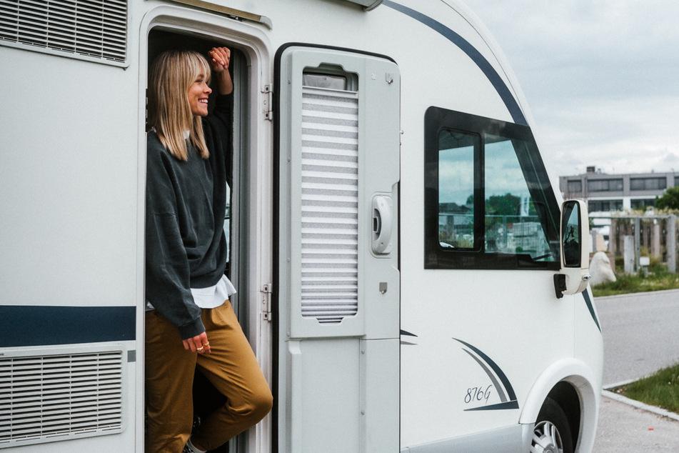 Einsteigen, losfahren und jeden Tag woanders Urlaub machen. Nadine Berneis (31) liebt die Freiheiten des Wohnmobil-Reisens.