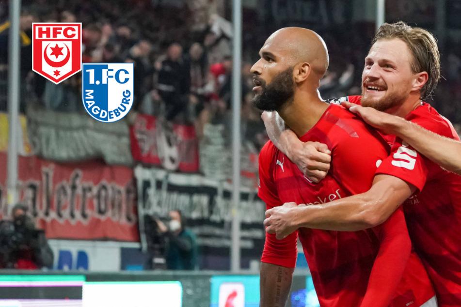 Nächste Pleite für Magdeburg! HFC schlägt Spitzenreiter in torreichem Derby