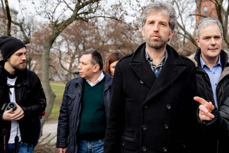 Verscheuchte Berliner Polizei Drogen-Dealer wegen Palmer-Besuch?