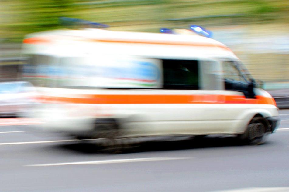 Der Rettungsdienst musste den Neunjährigen lediglich ambulant behandeln. (Symbolbild)