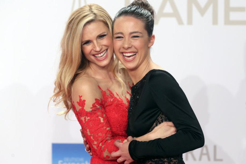 Das Verhältnis von Michelle Hunziker und Aurora Ramazzotti blieb trotz der ständigen Vergleiche dennoch immer gut.