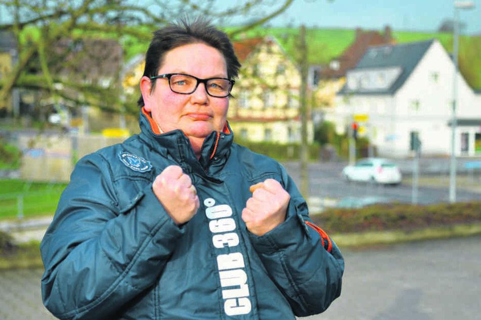 Annett Krause (48) ist wütend auf den Kindesentführer.