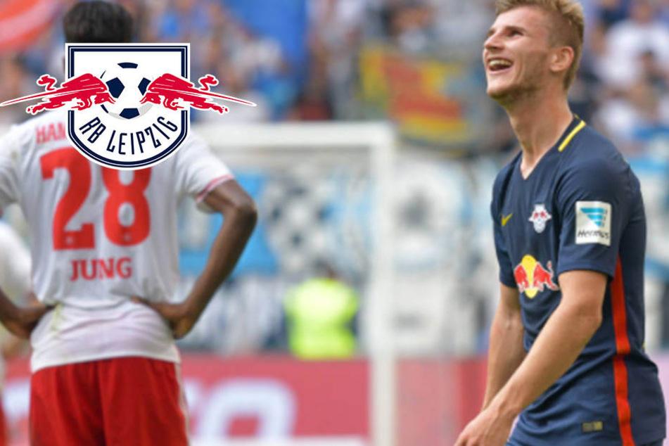 RB Leipzig will zweiten Dreier und 500. HSV-Heimsieg verhindern
