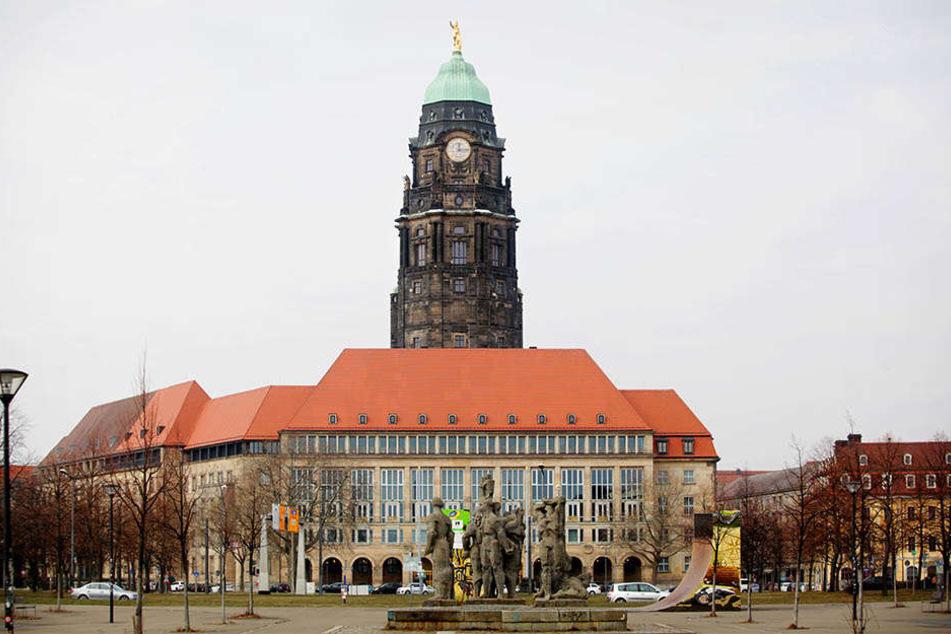 Auch im Dresdner Rathaus herrscht Personal-Notstand wegen der Grippewelle.