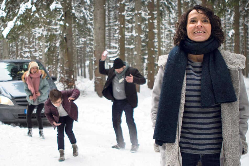Gruppendynamik im Schnee: Der Ausflug von Lena Odenthal (Ulrike Folkerts, 56) und ihrem Team wird anders als erwartet.
