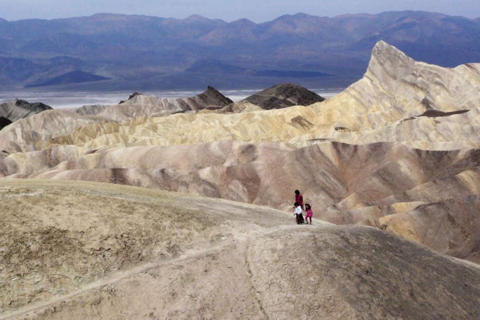 Der Death Valley Nationalpark ist bei Touristen sehr beliebt.