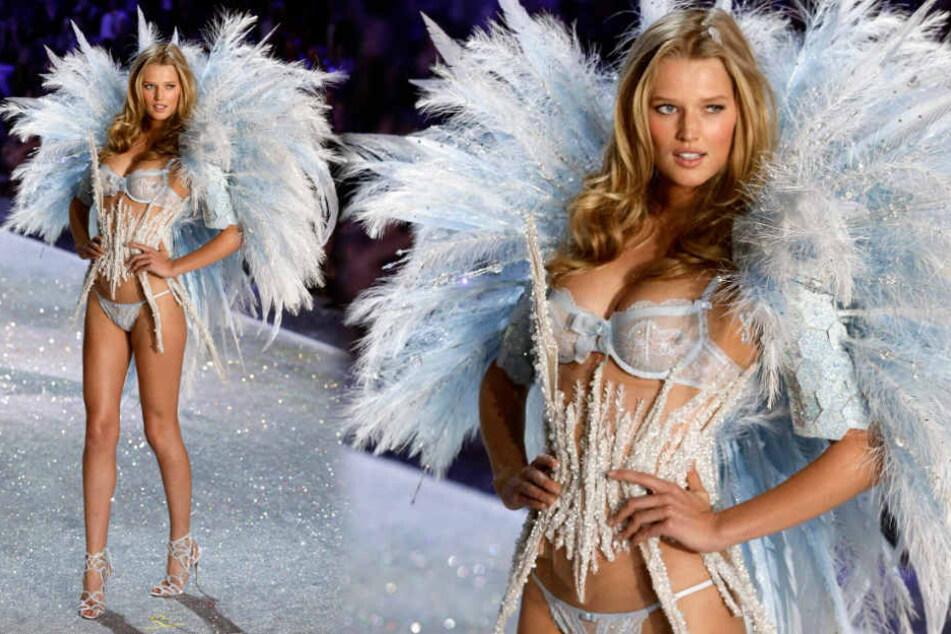 Toni Garrn lief schon mehrfach als Engel für Victoria Secret.