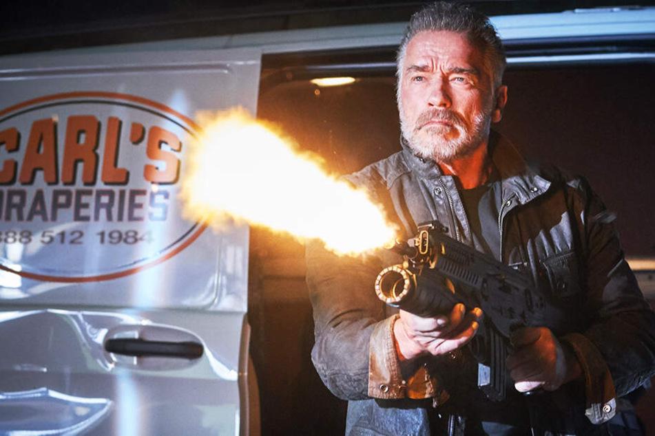 """So schlägt sich Schwarzeneggers neue deutsche Stimme in """"Terminator: Dark Fate"""""""