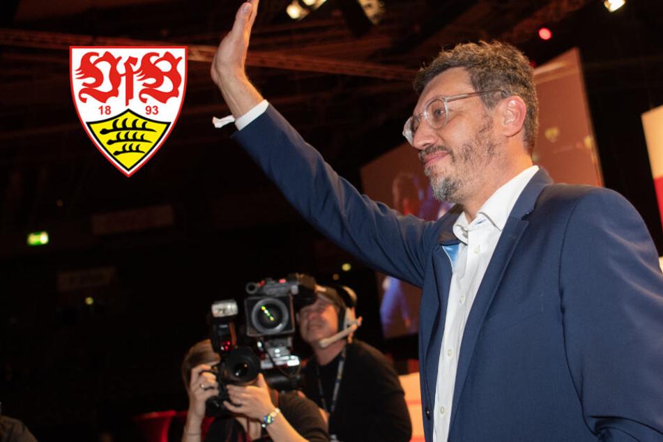 Neuer VfB-Präsident Claus Vogt nicht mehr Vorstand von Antikommerz-Verein