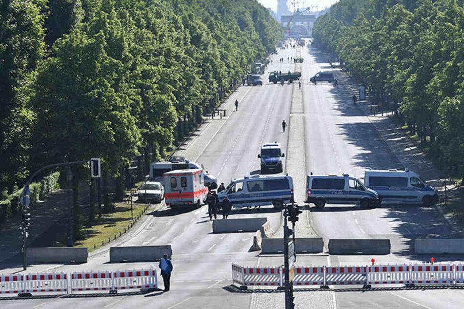 Für einen Monat wird auf der Straße des 17. Juni kein Auto verkehren.