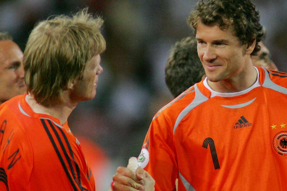 """Jens Lehmann ersetzte beim deutschen Sommermärchen 2006 Oliver Kahn als """"Nummer 1"""" im Tor. (Symbolbild)"""