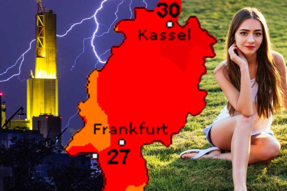 Wetterdienst warnt: Hitze und Unwettergefahr