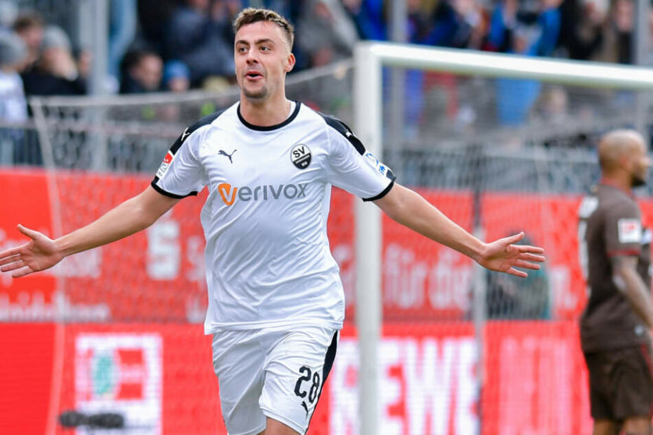 Förster im März beim Spiel gegen den FC St. Pauli.