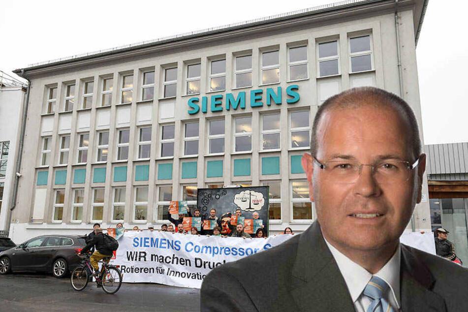 Wirtschaftsbürgermeister Uwe Albrecht will weiter das Gespräch mit der Siemens-Führung suchen.