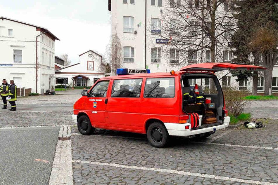Dieser Mannschaftswagen war das Ziel von Dieben.
