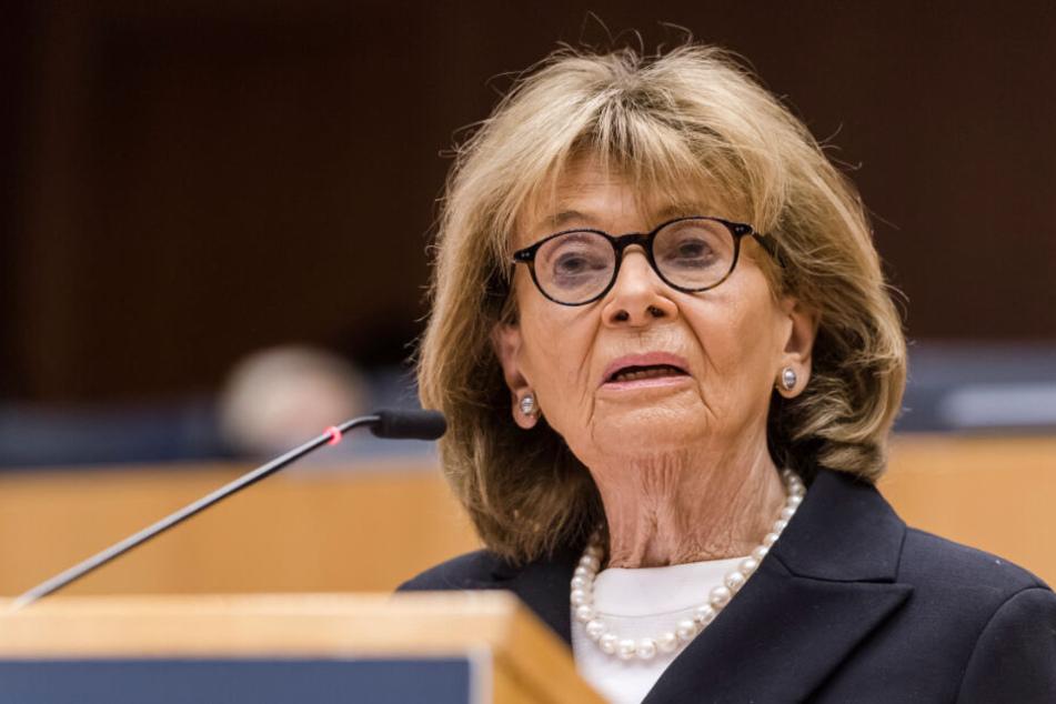 Charlotte Knobloch, frühere Präsidentin des Zentralrats der Juden in Deutschland, bei einer Holocaust-Gedenkveranstaltung.