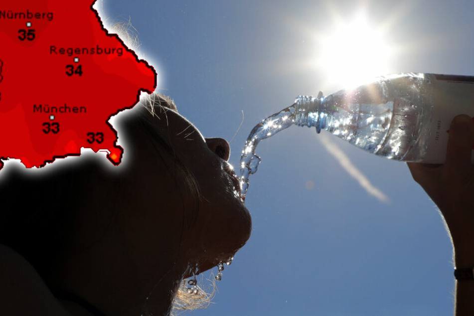 Jetzt kommt der Hitze-Hammer! Rekord-Temperaturen in Bayern erwartet