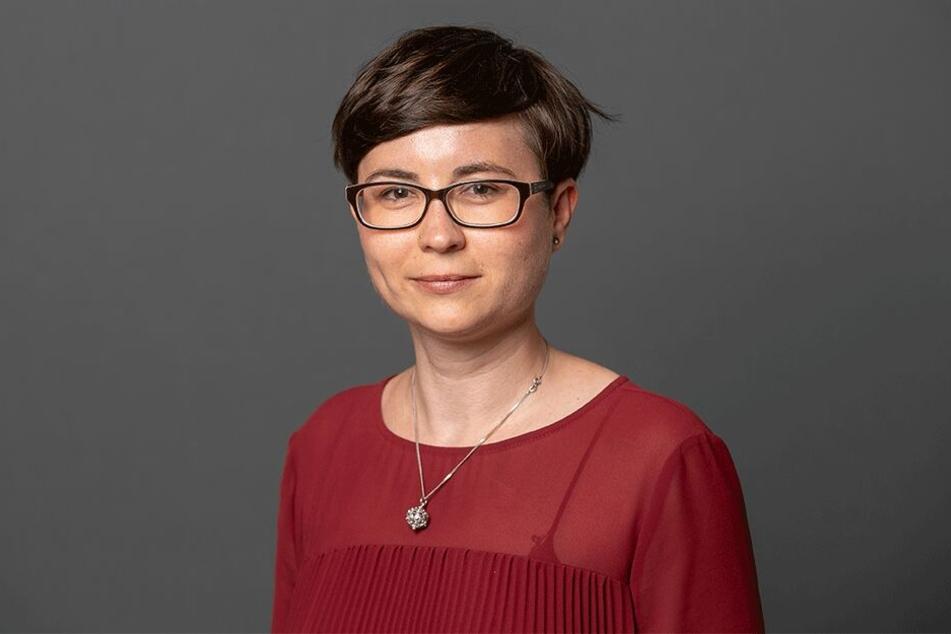 Tina Siebeneicher (35) ist seit 2015 Stadträtin und beerbt Thomas Löser als Fraktionsvorsitzende.