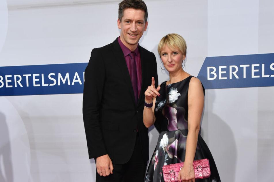 Steffen Hallaschka und seine Frau Anne-Katrin erwarten ihr zweites Kind.